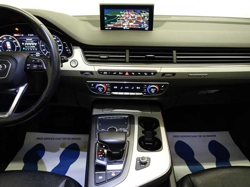 Audi Q7 3.0 TDI E-tron Quattro 374pk S-line Premium Autom- Pano, Virtual Cockpit, Bose, Leer, Camera afbeelding 5
