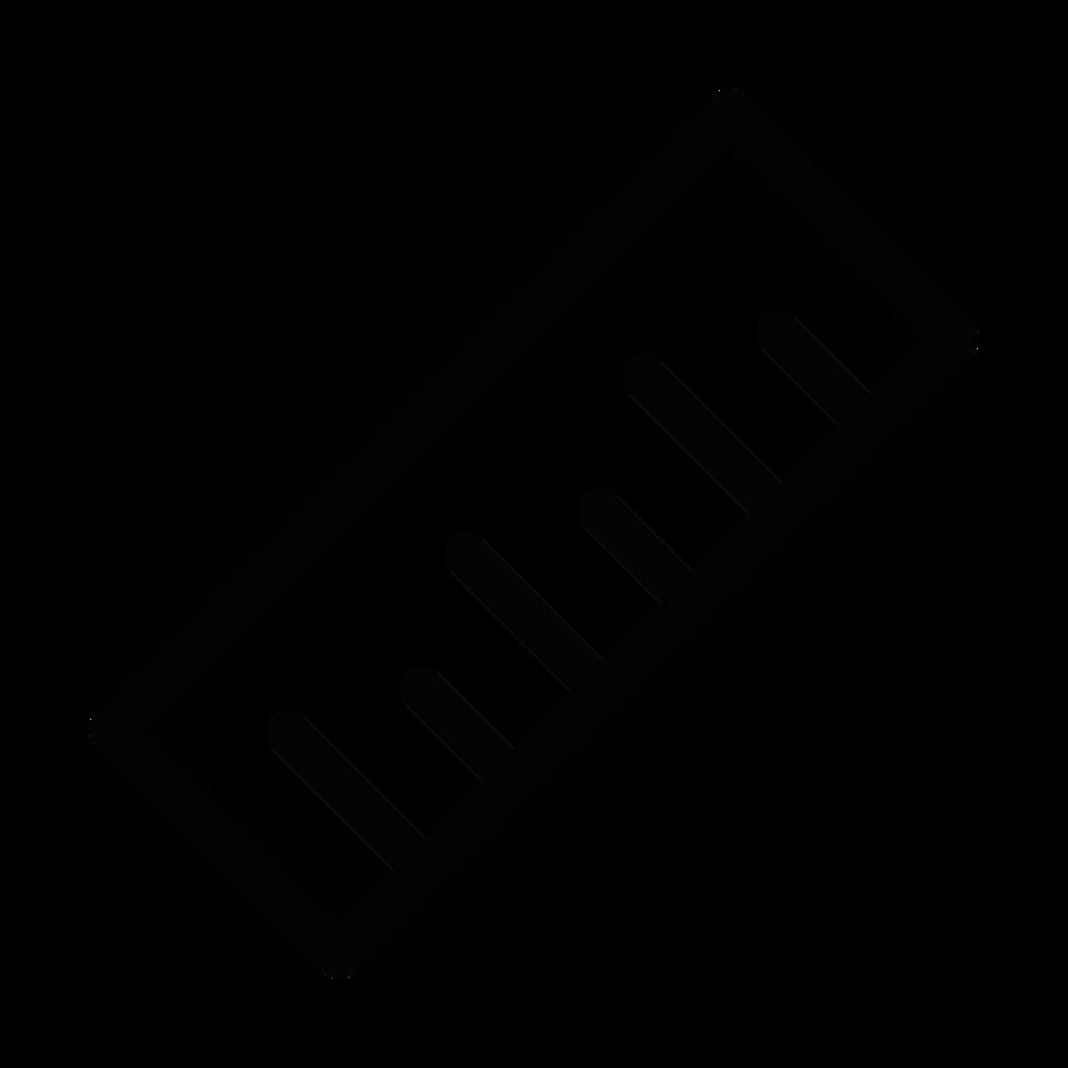 Graphic edit ruler