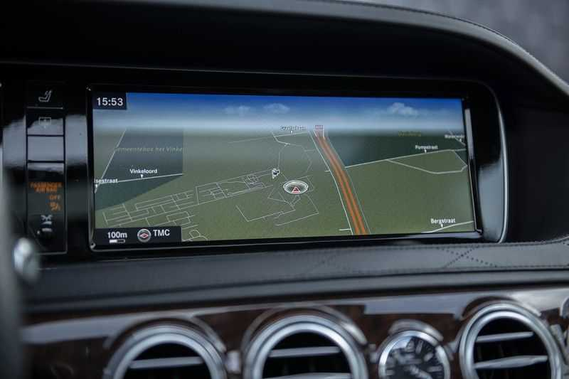 Mercedes-Benz S63 AMG Lang 4-Matic BTW-auto + Magnetite Black + Panoramadak S 63 DISTRONIC Plus + MASSAGE afbeelding 22