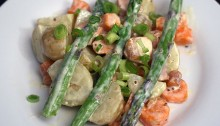 asparagus and potato salad