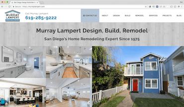 murray lampert website screenshot