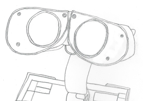 Wall-e Eyes Sketch