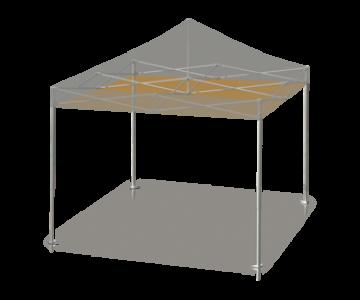 Deckenabhängung zur Verdeckung der Dachstruktur