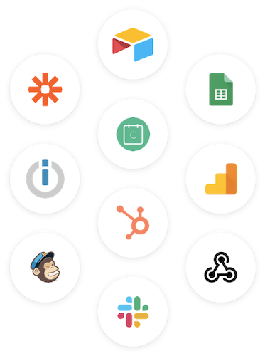Send data from Joonbot to any apps your want with our integrations: Zapier, Integrately, native email, Google Sheets, API / Webhooks.