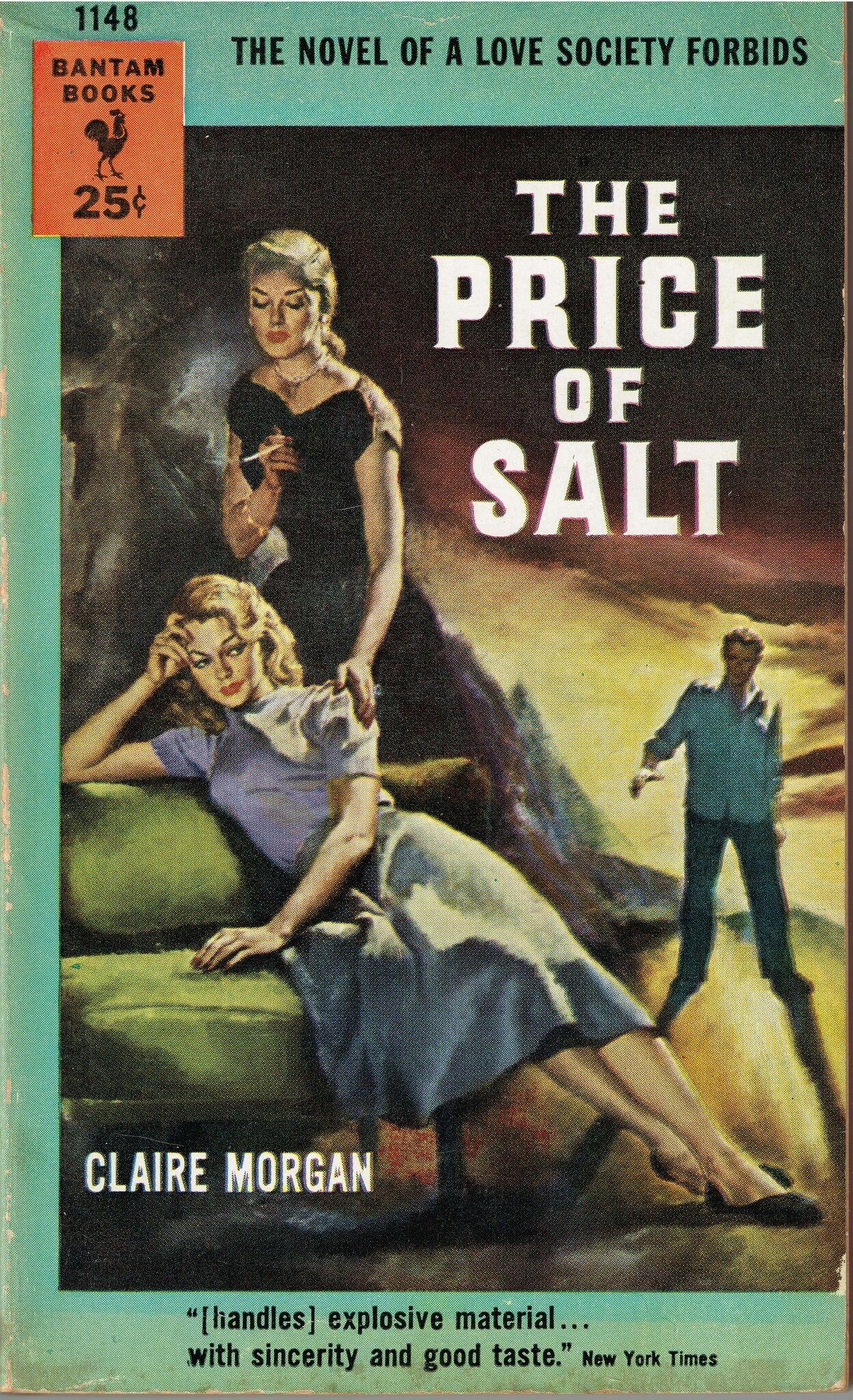 Обложка первого издания книги «Цена соли». Иллюстрация: Charles Binger. Источник: wbur.org