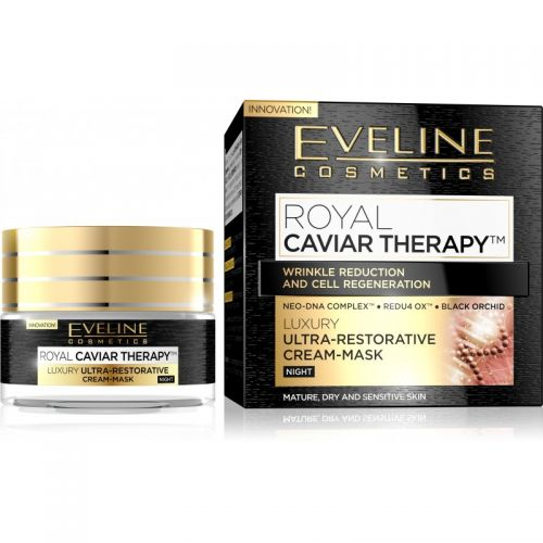 EVELINE ROYAL CAVIAR THERAPY LUXUS ULTRA-REGENERÁLÓ ÉJSZAKAI ARCKRÉM 50 ml | Eveline Cosmetics
