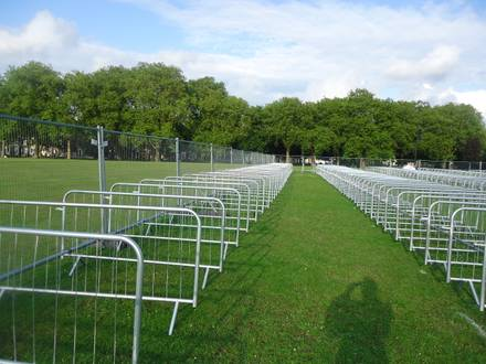 Crowd Control Barriers at the London 2012 Olympics and Para Olympics