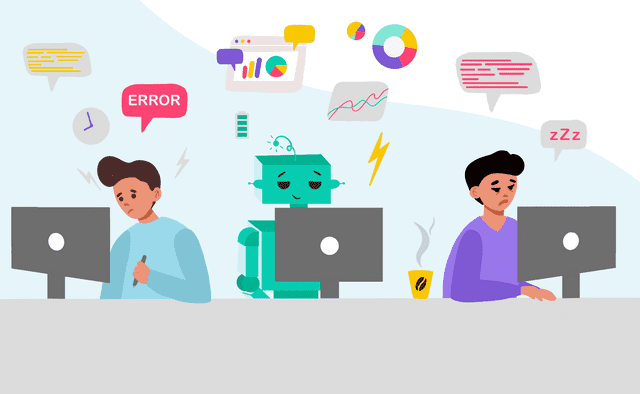 AI-powered tools help eliminate human errors and burn-out.