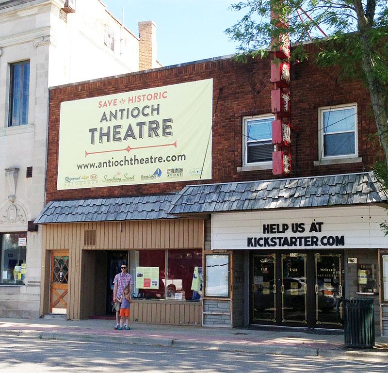 Antioch Theatre banner