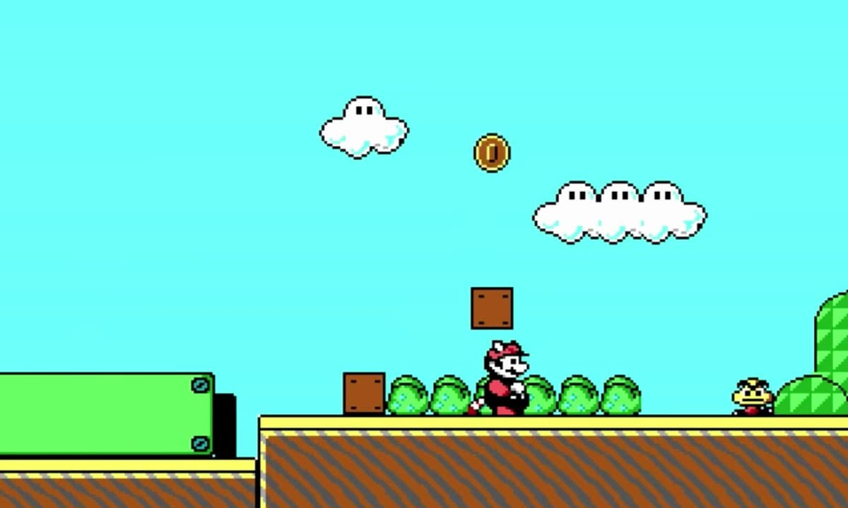 John Carmack's unlicensed PC port of Super Mario Bros. 3