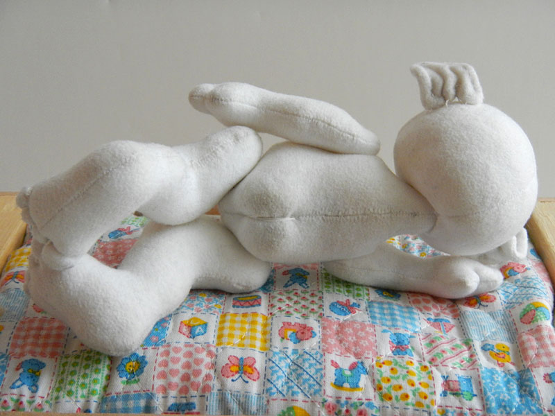 Baby Poppet Doll, back