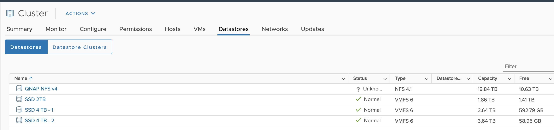 NFS 4 datastore