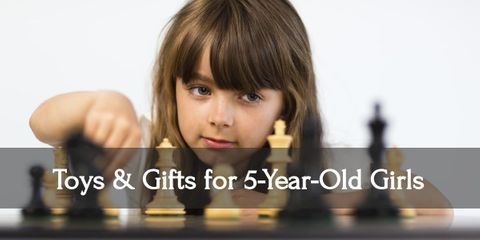 Keep your five year old girl busy with these wonderful gifts!