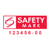 check for safety mark