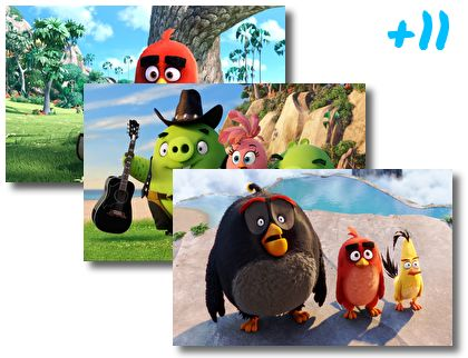 The Angry Birds Movie theme pack