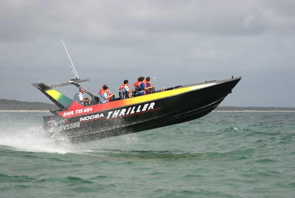 Jet Boating Noosa