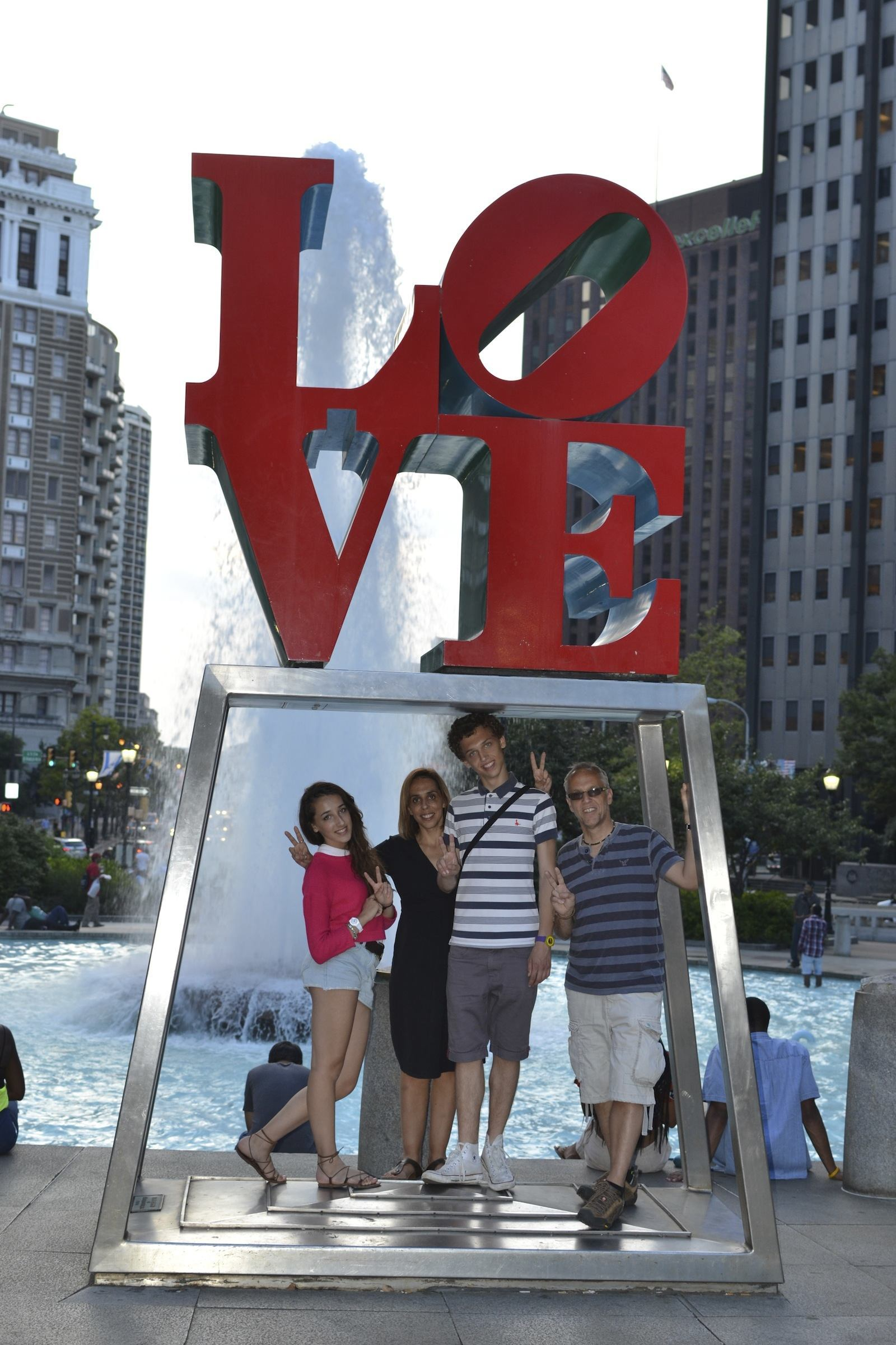 Famous LOVE sign