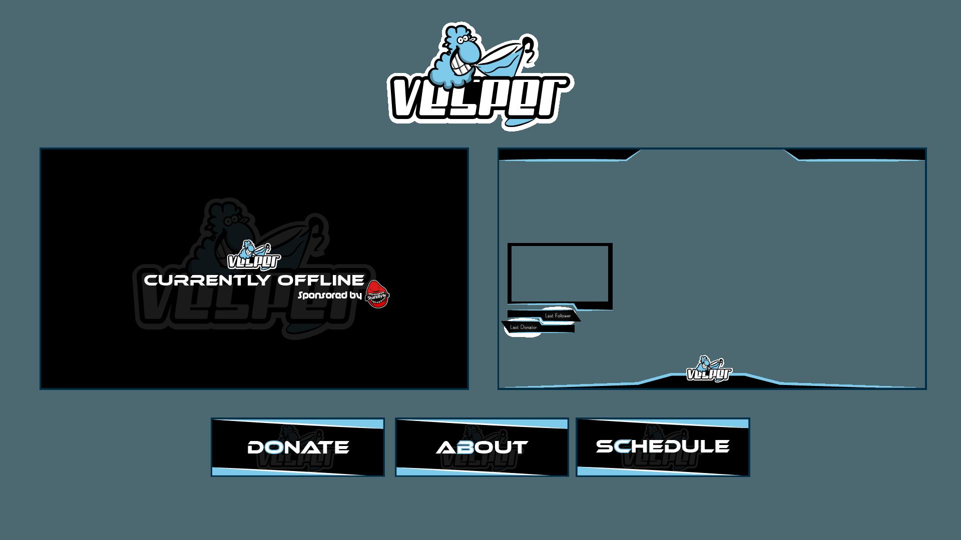 Vesper Twitch Channel Design