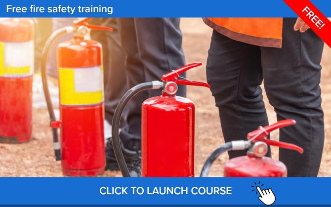 free fire safety training online course
