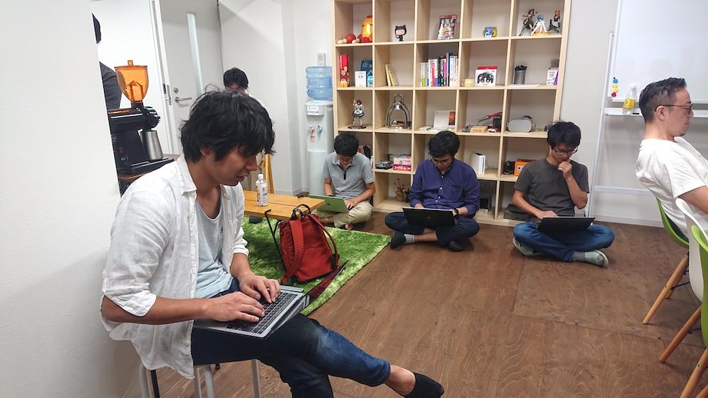 機械学習勉強会の様子