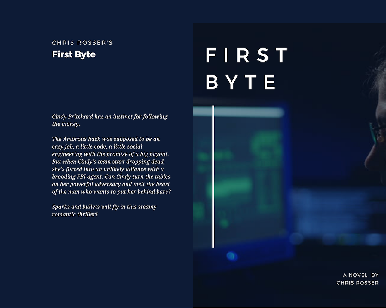 First Byte cover mockup and blurb