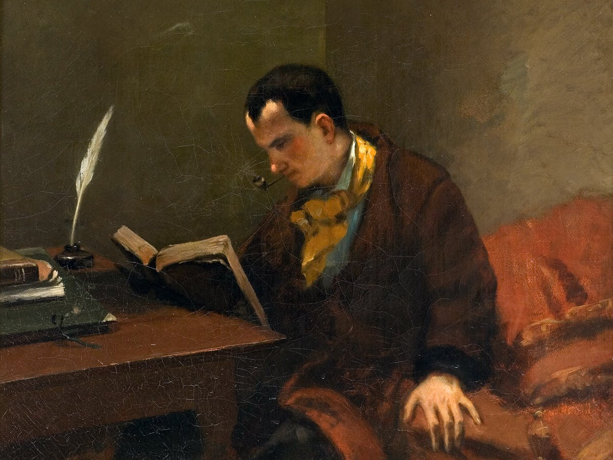 Портрет Бодлера, написанный Гюставом Курбе (1848-1849). Источник: commons.wikimedia.org
