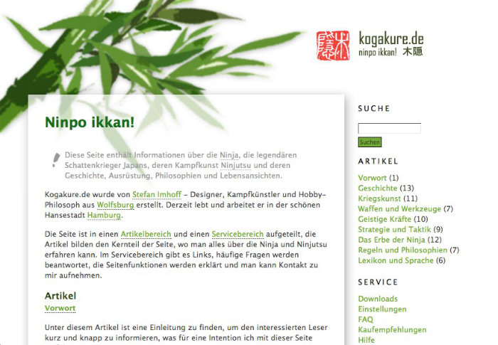 Website 2004