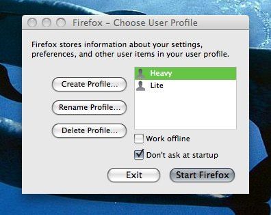 Managing Multiple Firefox Profiles in OS X - spf13 com