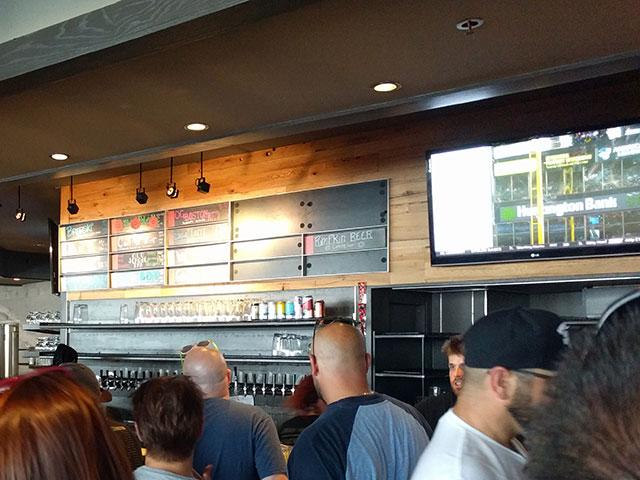 Boston Beer Works Beer Taps