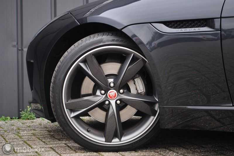 Jaguar F-Type 3.0 V6 Convertible   398 Pk, 500 Nm   Leder   afbeelding 12
