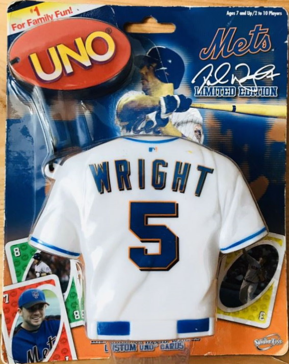 New York Mets Uno: David Wright