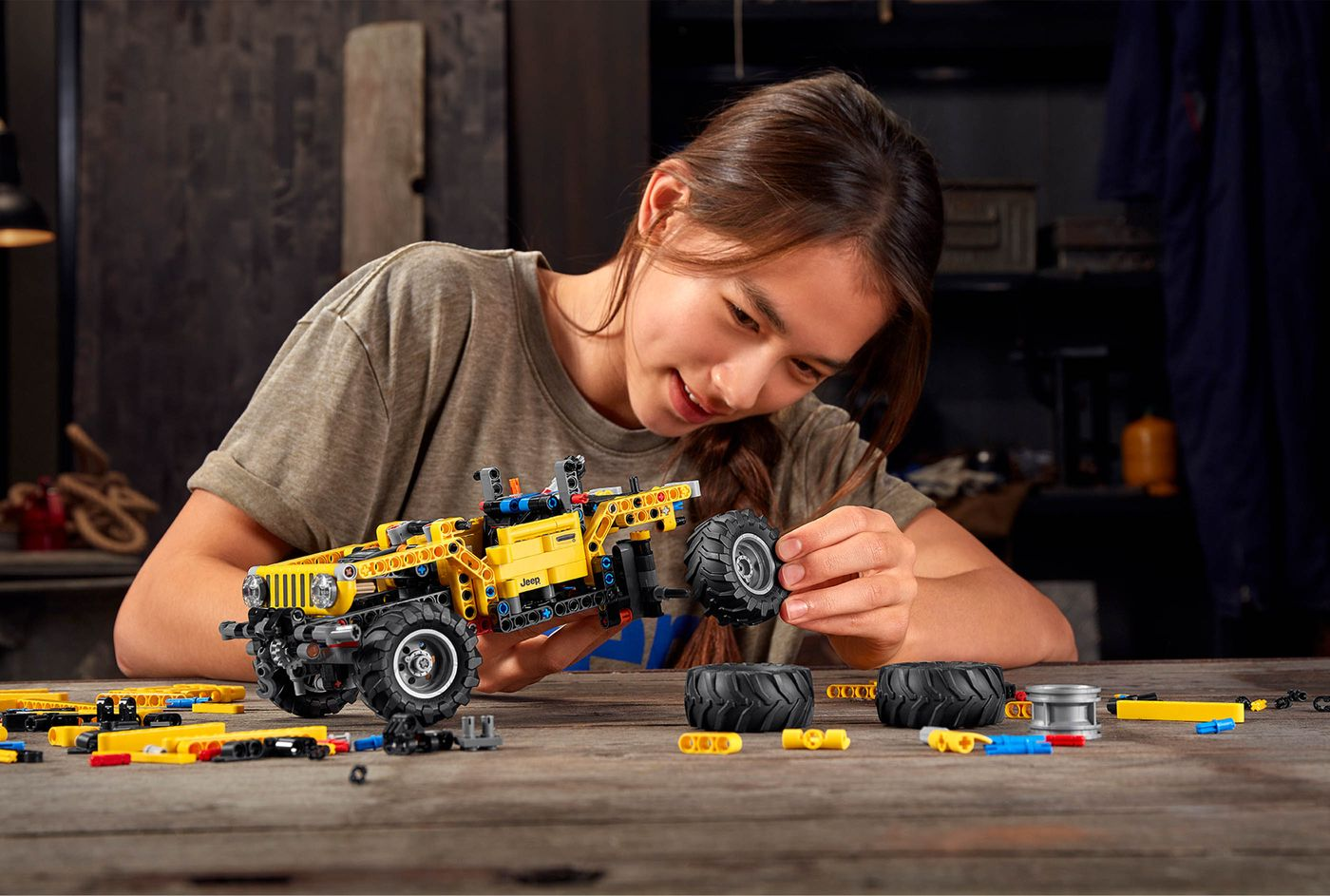 Jeep x Lego Technic