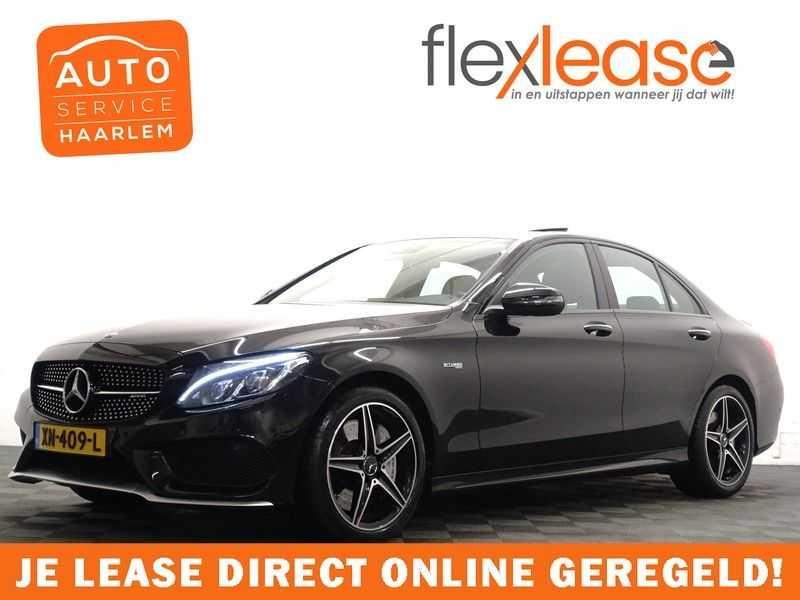 Mercedes-Benz C-Klasse 43 AMG 4M Black Series 368pk Autom- Schuifdak, Burmester, Leer, MBUX, Camera, Full!