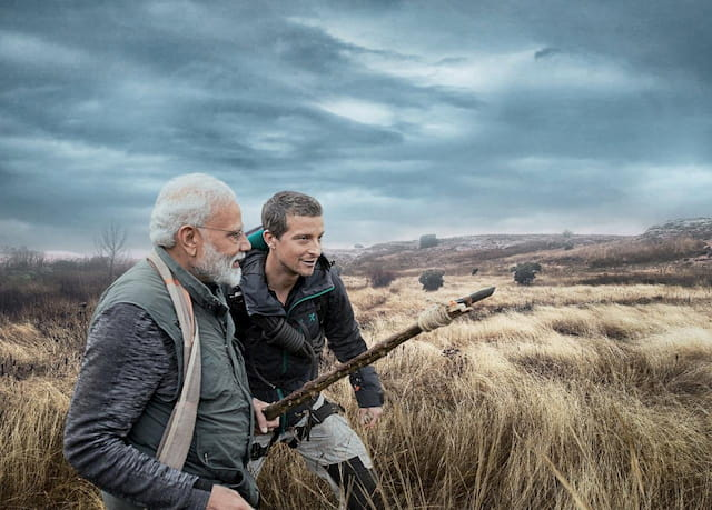 Modi Bear Grylls Man vs. Wild