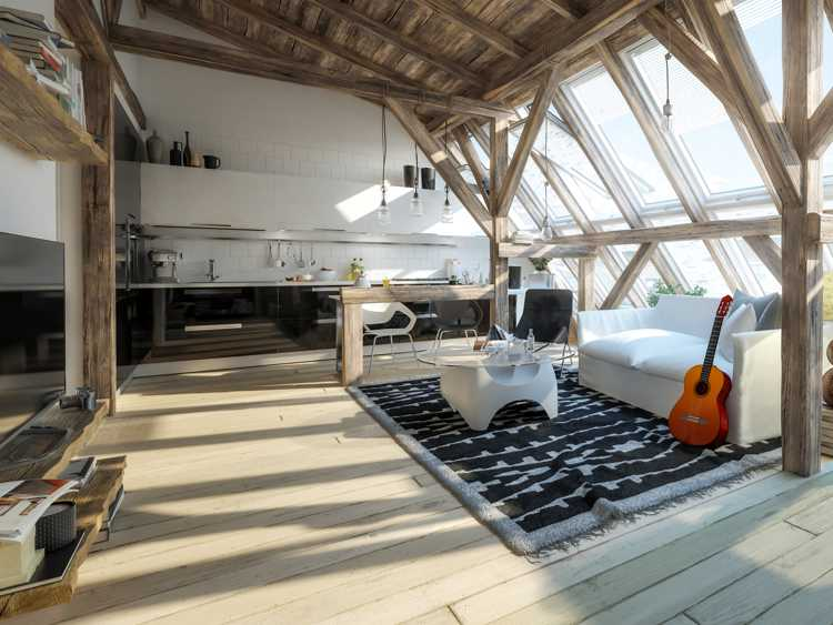 Spectacular loft conversion project