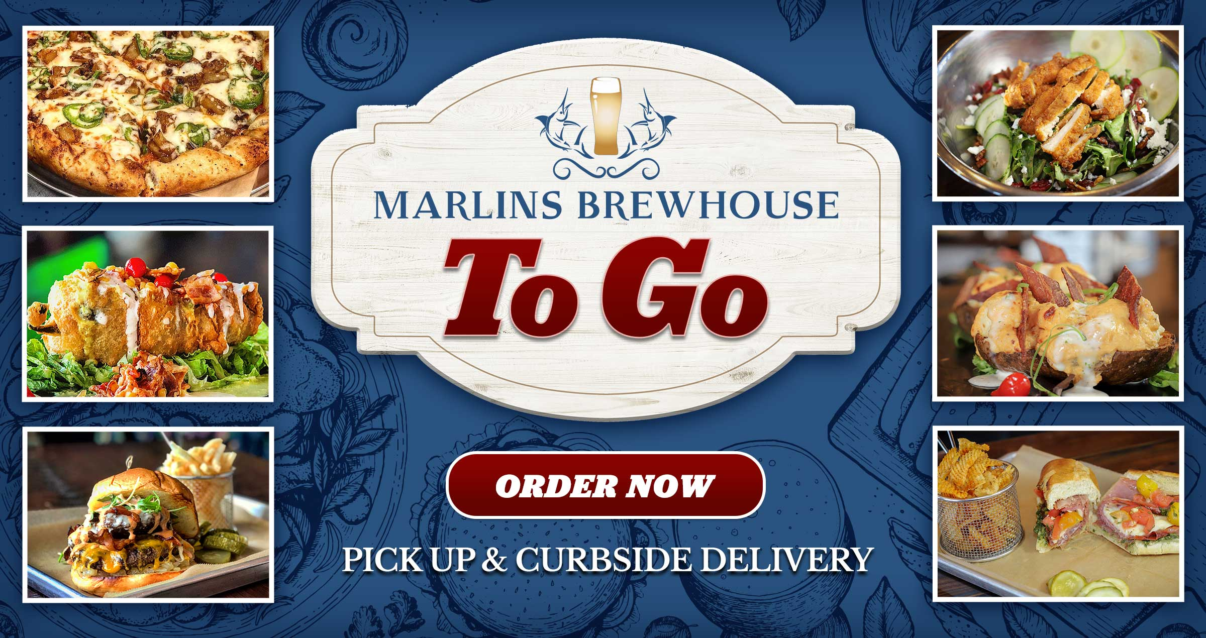 Marlins Brewhouse To Go - Order Now - Pick Up and Curbside Delivery