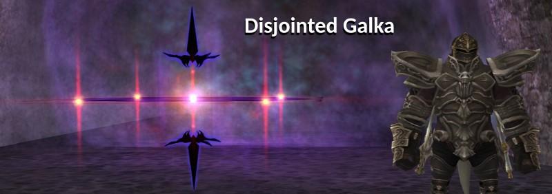 Disjointed Galka