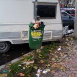 Gunoaie în sectorul 4, București