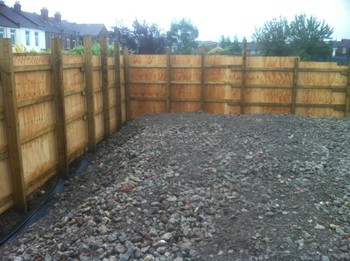 Wooden Timber Fencing
