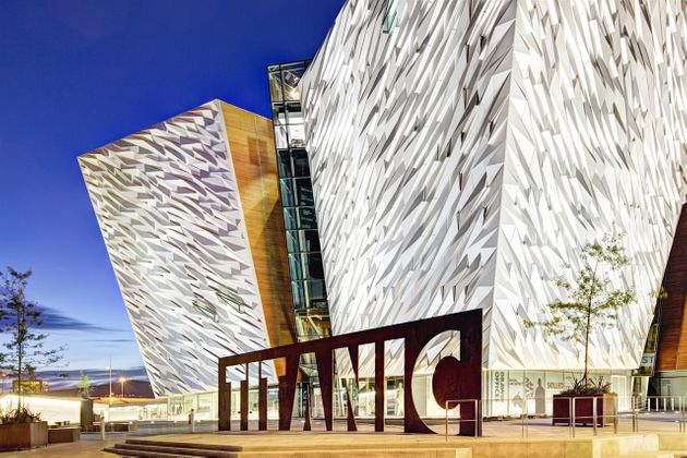 Chauffeur Me Tour Location - Titanic Belfast