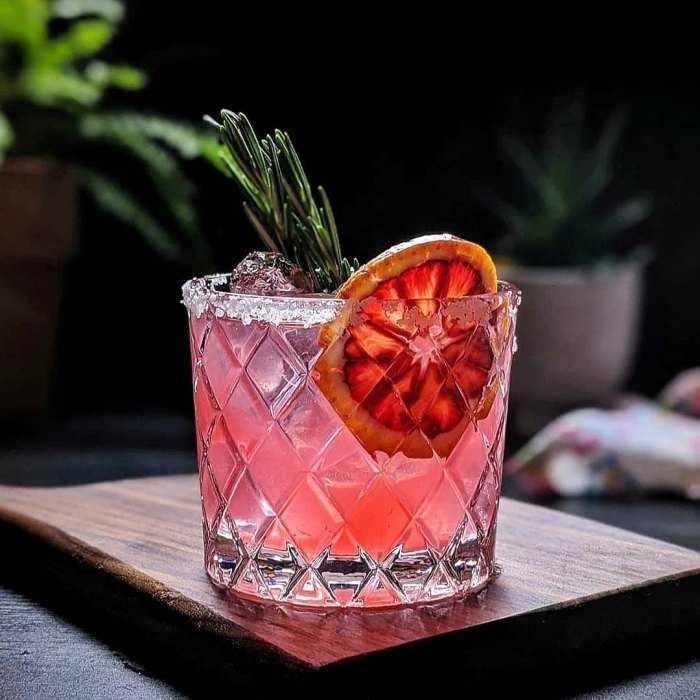 Winter Rita Cocktail