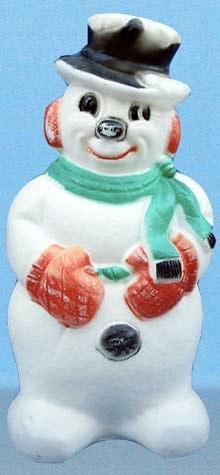 Illuminated Standing Snowman photo
