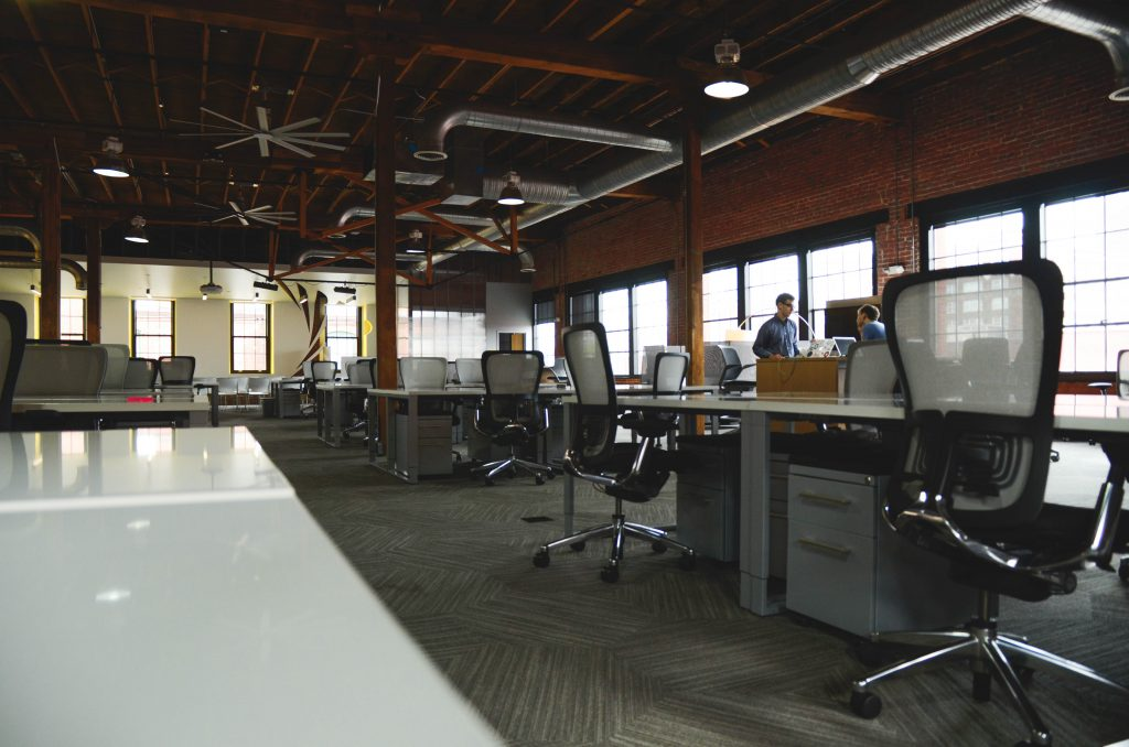 remote team - coworking space