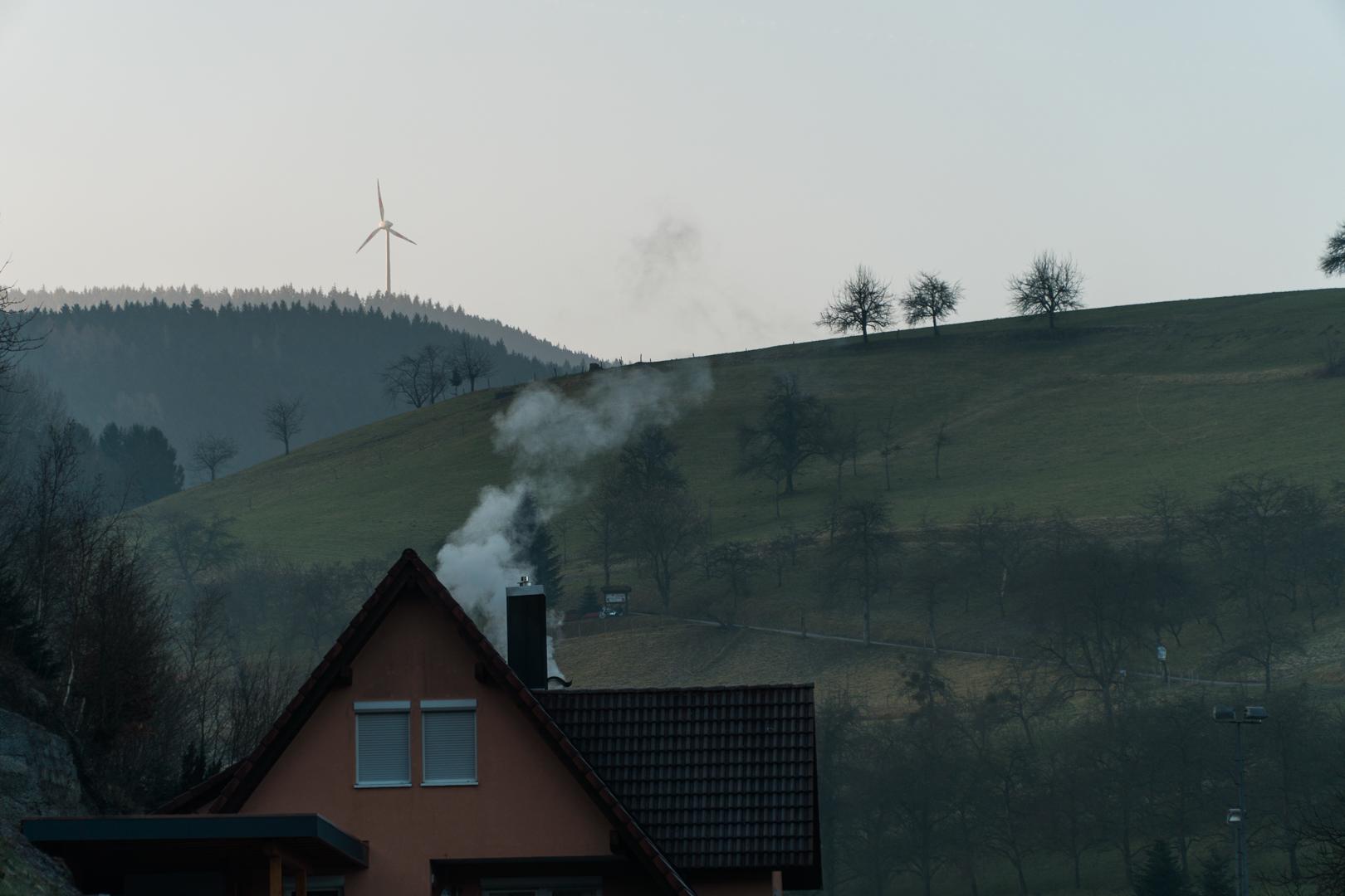 uno scorcio del paesaggio tedesco