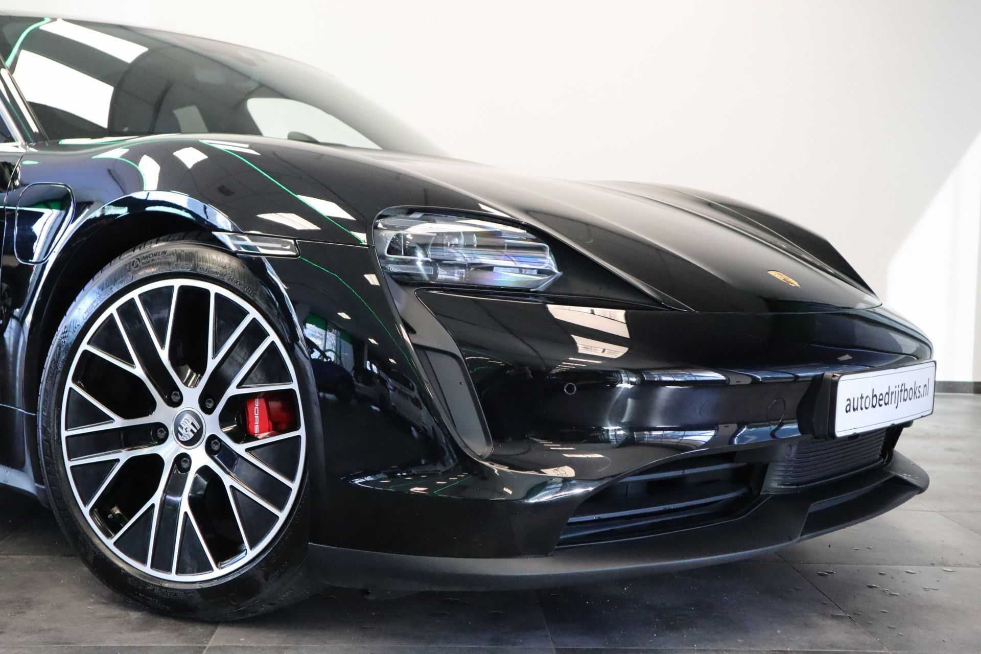 Porsche Taycan 4S Performance 571pk! Prijs = Ex.BTW Full-Led Sport-Chrono Panoramadak Warmtepomp afbeelding 25