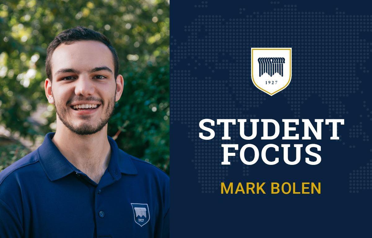 Student Focus: Mark Bolen image