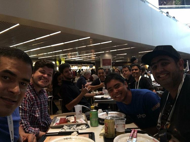 Almoço Community Summit