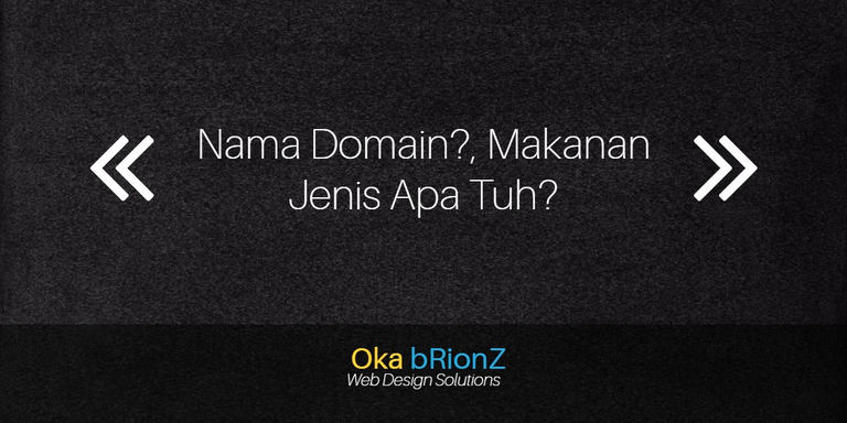 Nama Domain Itu Apaan Sih?