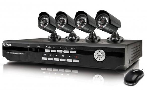 Swann DVR-4 2600 CCTV System