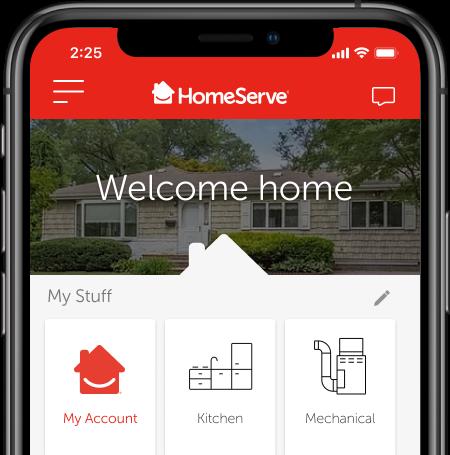 HomeServe app